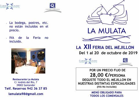 FERIA DEL MEJILLO 2019-RESTAURANTE AL MULATA