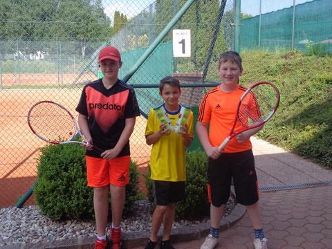 Raphael Neuhold, Leo Traschitzker und Marcus Edlinger (nicht im Bild Florian Tribelnig)