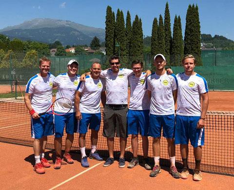 Karli, MF Christopher, Michael, Martin, Matthias, Thomas und Manuel