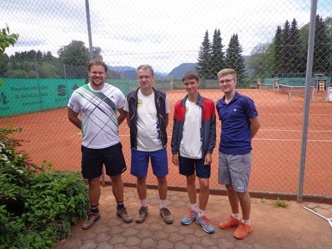 Manuel Meixner, MF Thomas Traschitzker, Paul Traschitzker und Klausi Brandner (nicht im Bild Florian Zmölnig, Mario Barusic)