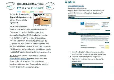 Anleitung Amazon Smile