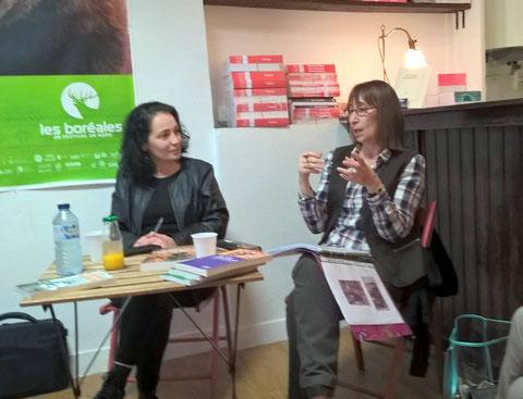 Rencontre avec les lecteurs et Sophie Peugnez au Brouillon de Culture en mars 2017