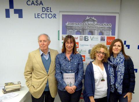 Aux Journées du Roman historique de Madrid en avril 2017