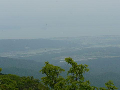 琵琶湖の北