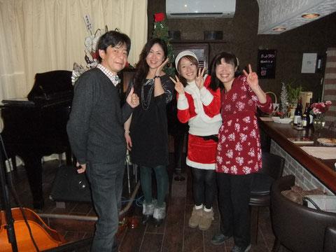 2013.12.21 梅田昌代Vo ライブ