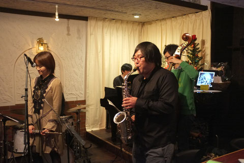 2014.12.20 Fl.根岸亜希子&As.櫻井智則 LIVE