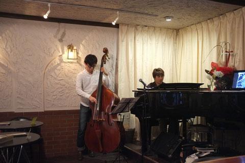2014.5.9 Piano辺見優司&Bass福田晋平 Duo