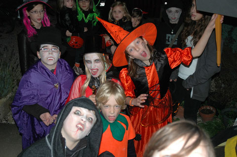Halloween à Thenissey