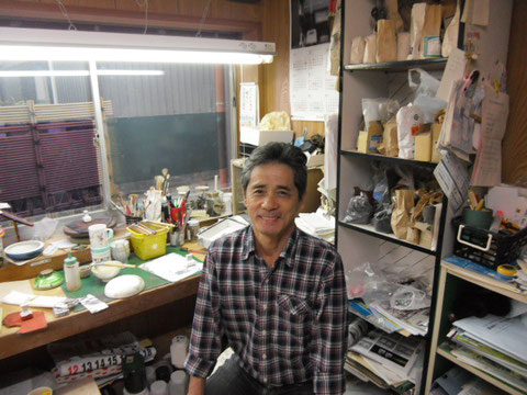 九谷焼 絵付師