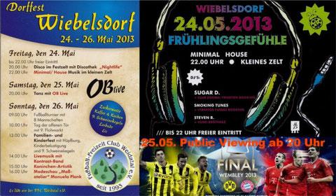 24. - 26.05.2013 Dorffest in Wiebelsdorf
