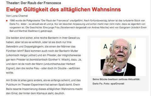 WienerZeitung.at, Februar 2011