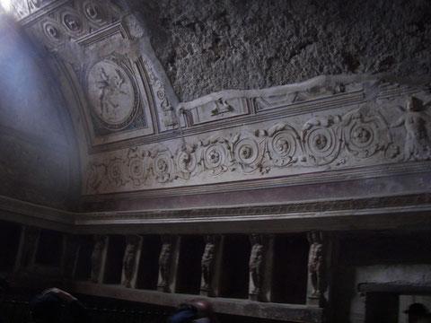Tepidarium de Pompeya