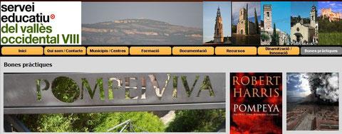 Bona Pràctica Serveis educatius Vallès Occidental VIII, junio de 2014
