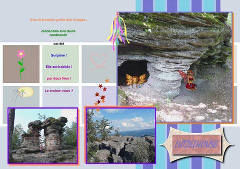 Lutzelhouse, fées, grotte