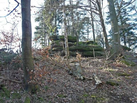 Le Pfannenfels (510m)