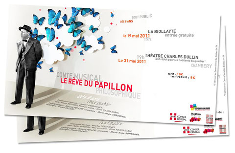 invitation au conte musical le rêve du papillon