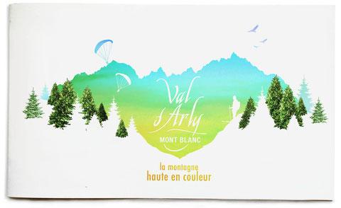 couverture de la brochure du val d'arly