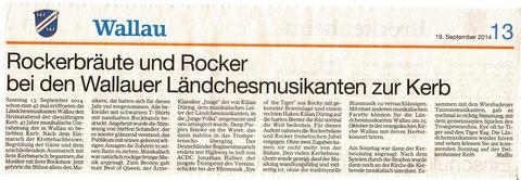 Bericht vom 19. September im Erbenheimer Anzeiger