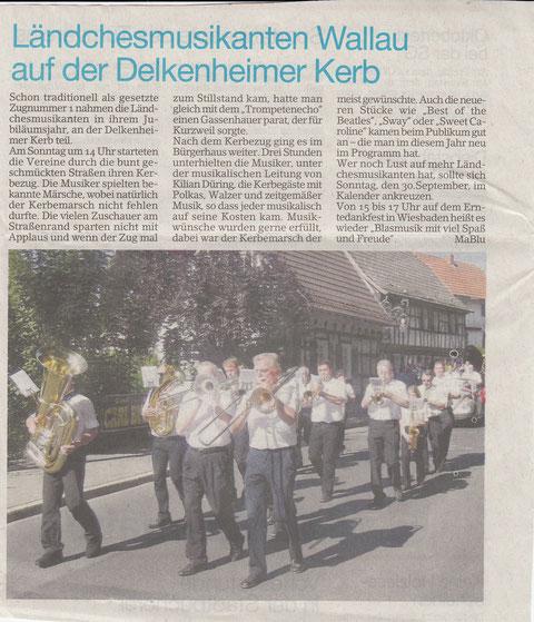 Bericht im Erbenheimer Anzeiger Freitag 21.09.2012