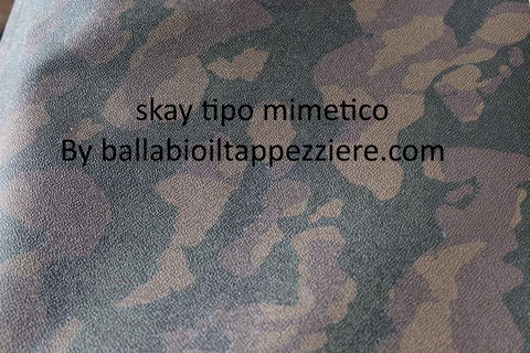 skay mimetico-ecopele mimetico-tessuto mimetico By ballabioiltappezziere.com