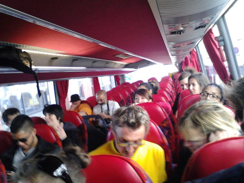 Retour en Bus © Sylvie Rouquet et Jérôme Lequen