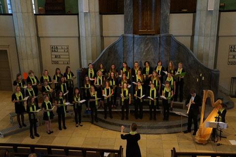 """Chor+Harfe+Sax"" - Severine Schmid, Harfe; Patrick Stadler, Saxophon"