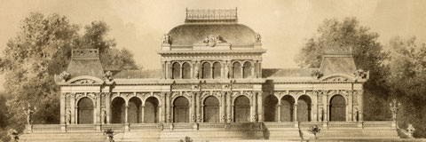 Architektonischen Skizzenbuch