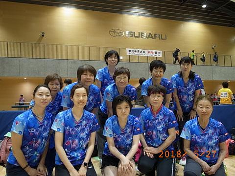 港区女子代表選手団