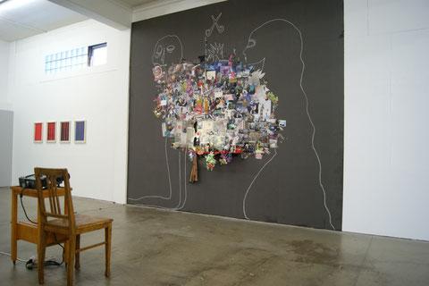 Ausstellungsansicht Kunsthaus L6, Freiburg, 2013