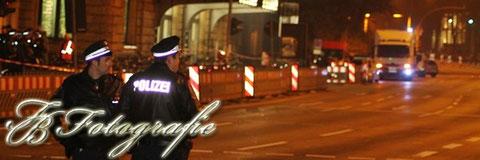 08.11.2011 - HH/Dammtor: Elektronisches Bauteil löst Bombenalarm aus