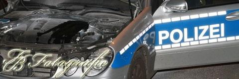 23.07.2012 - HH/Billstedt: Streifenwagen brennt nach technischem Defekt