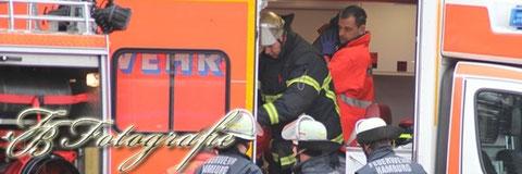 16.11.2011 - HH/Billbrook: Beine von Lok zerquetscht - Schwerer Arbeitsunfall in Billbrook