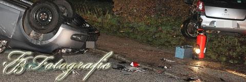 21.12.2011 - HH/Ochsenwerder: PKW überschlägt sich nach Unfall