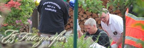 11.05.2012 - HH/Schiffbek - Abrutschender Bagger begräbt Arbeiter unter sich