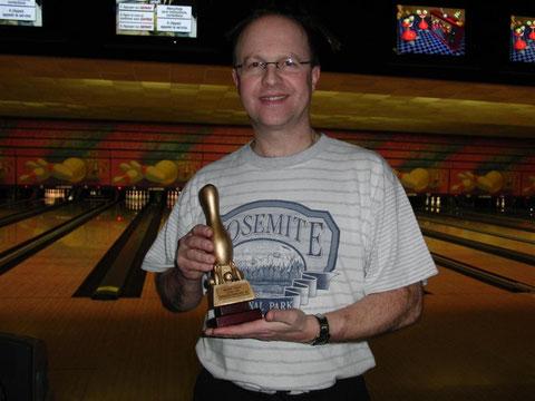 Marc SALZER et son trophée