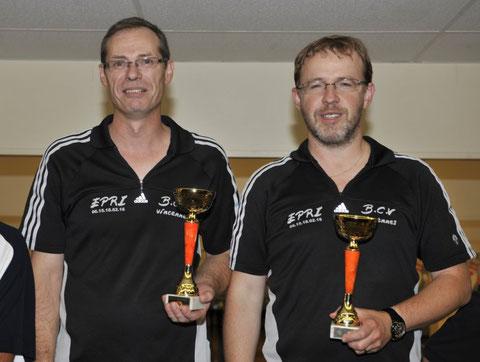 Patrick BROUTIN et Christian  MOSMANT vainqueurs à Boussy Saint-Antoine