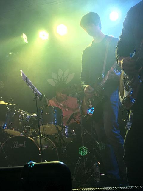 Yukio (Drums) and Ken'ichi (Guitar)
