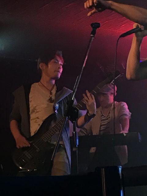 takuya (Bass) and Hiroshi (Keyboard)