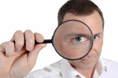 Check & Analyse für Unternehmen: Recherchen, Umfragen, Tests, Marktanalysen, Kundenanalysen, Reputations-Analysen, Werbe-Analysen, Image-Analysen, Schwachstellen-Analysen, Personal-Analysen, Team-Analysen, Kommunikations-Analysen, Supervision