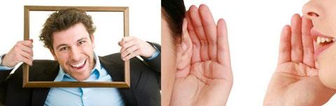 Wirkungs-Analyse (Ablauf): Wir finden für Sie heraus, was Ihre Mitmenschen oder bestimmte Kunden oder Entscheider-Typen bei der ersten Begegnung mit Ihnen, Ihrem Unternehmen und Ihren Mitarbeitern denken, welche Eigenschaften sie Ihnen unterstellen