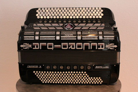 Akkordeon Accordiola Chromaton V Grand Luxe 155 Bass