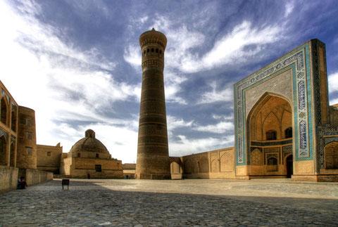 wo sind die Touristen ?, Buchara, Usbekistan