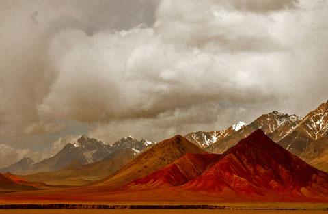 auf dem Wege nach Kirgisien