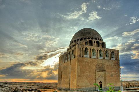 Mausoleum bei Mary, Turkmenistan