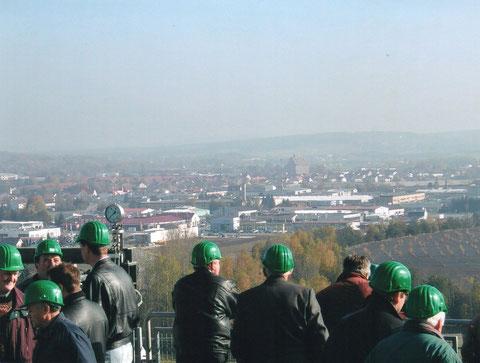 Schwandorf von oben...