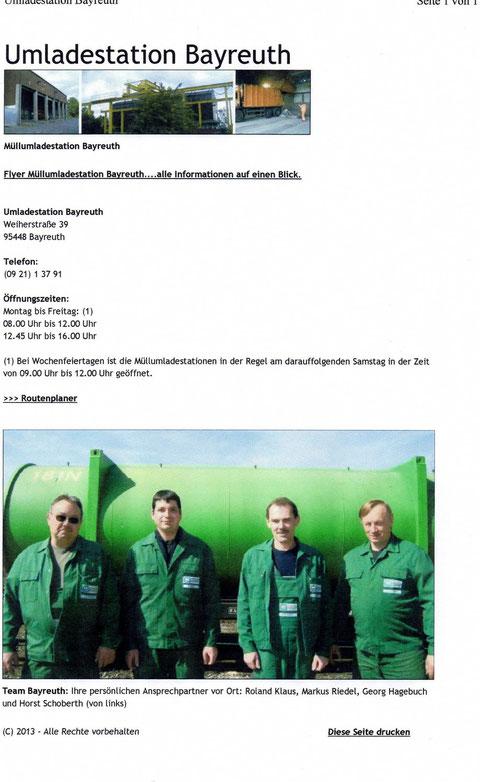 Müllumladestation Bayreuth 04-2013