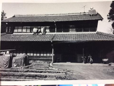 昭和の時代の施工前写真