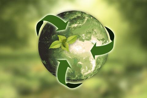 梅垣組 環境方針 イメージ画像