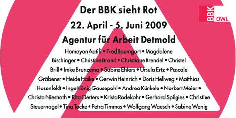 Der BBK sieht Rot, Agentur für Arbeit, Detmold