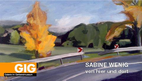 Einzelausstellung von Sabine Wenig in Enger